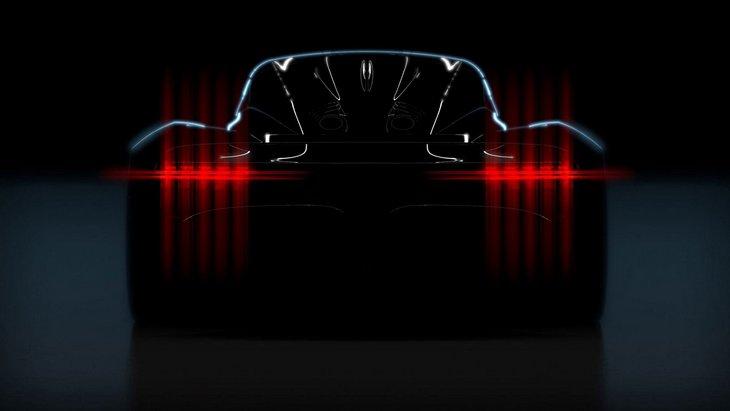 Aston Martin выпустил тизер своего нового супер автомобиля на 1000 лошадок 1