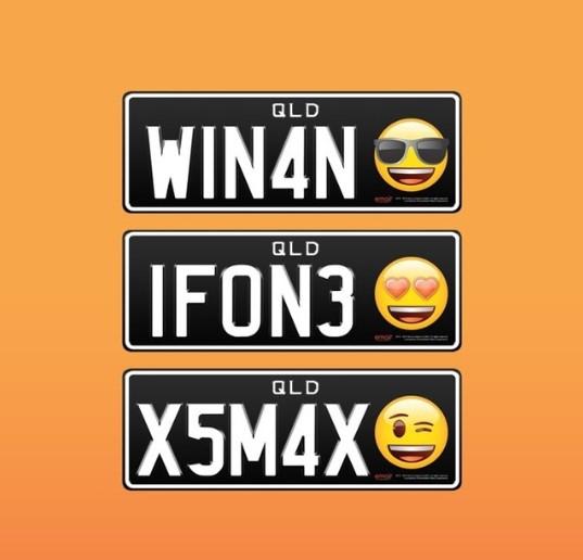 На автомобильных номерах появятся «человеческие лица» 1