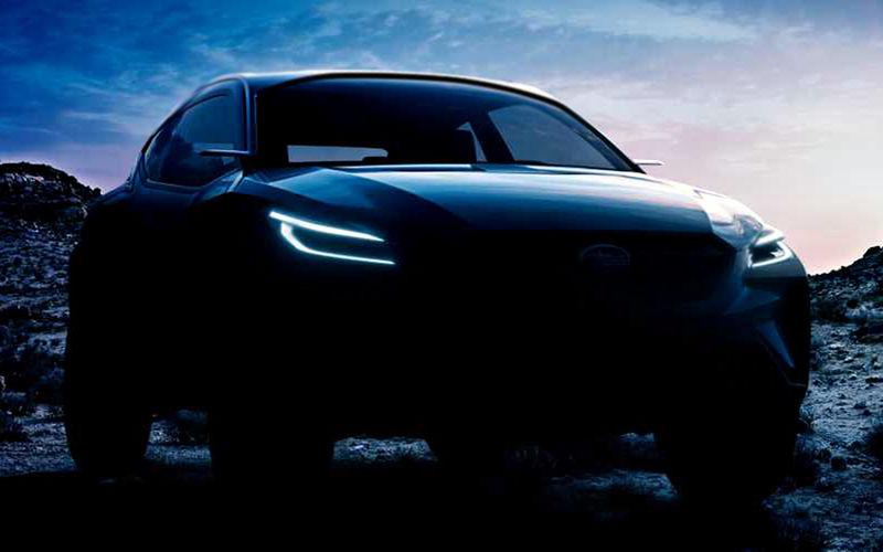 Subaru везет в Женеву новый кроссовер 1