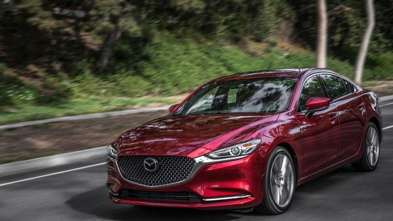 Обновлённая Mazda6 2019 года получила современный дизайн 1