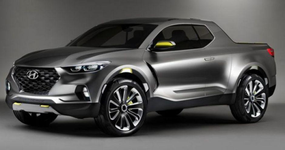 Пикап Hyundai выпустят в более брутальном дизайне 1