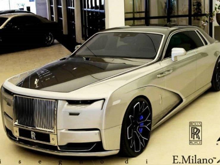 Появились рендеры нового роскошного Rolls-Royce Ghost 1
