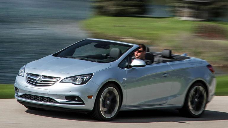 Buick прекращает производство кабриолета Cascada 1