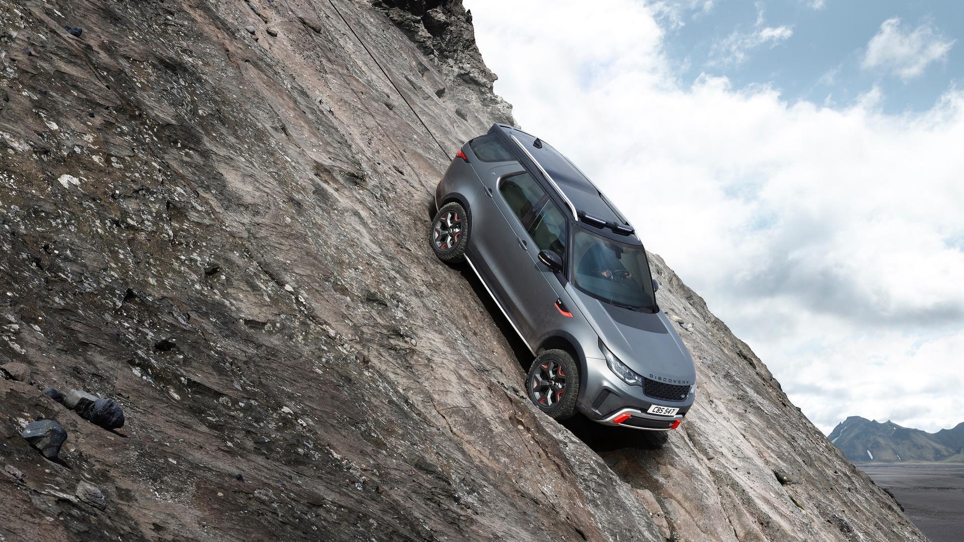 Land Rover отказался от выпуска Discovery SVX 2
