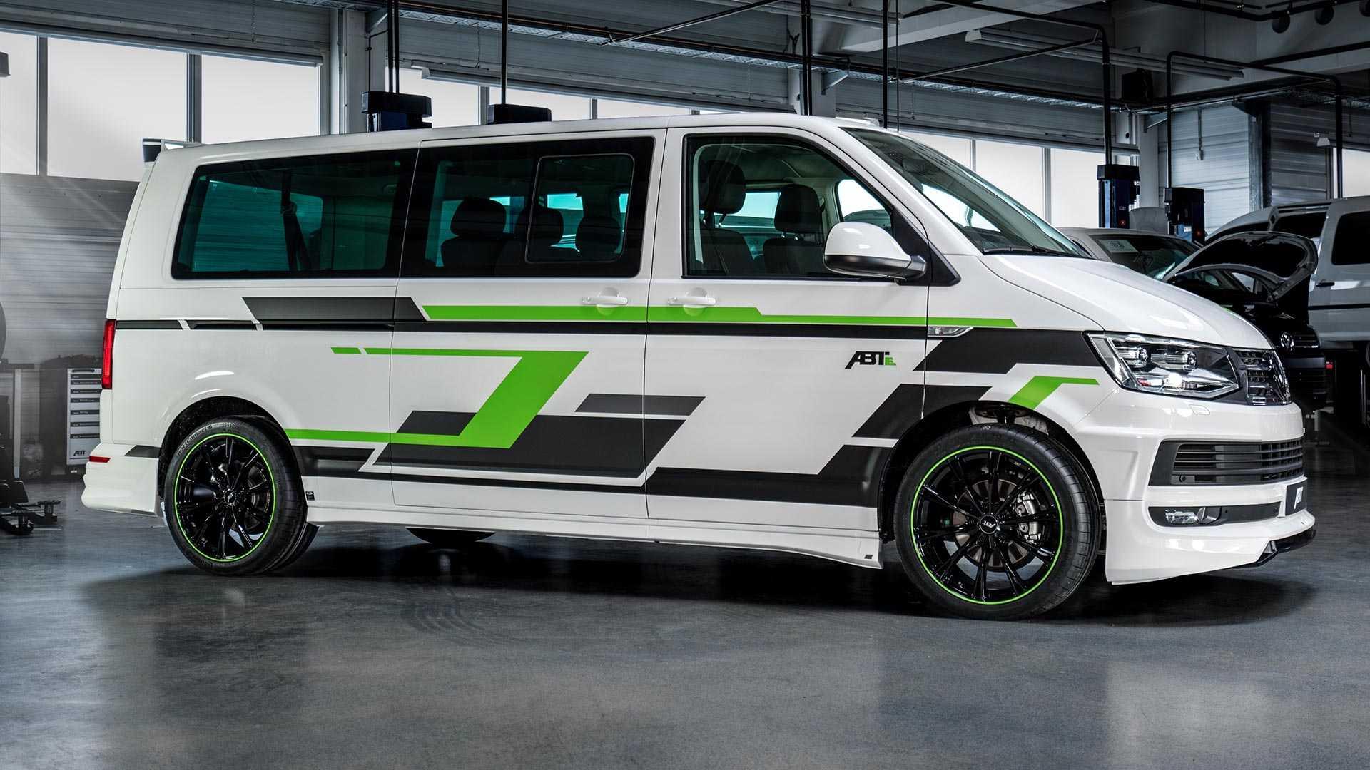ABT сделал электрический Volkswagen Transporter T6 для шоу в Женеве 1