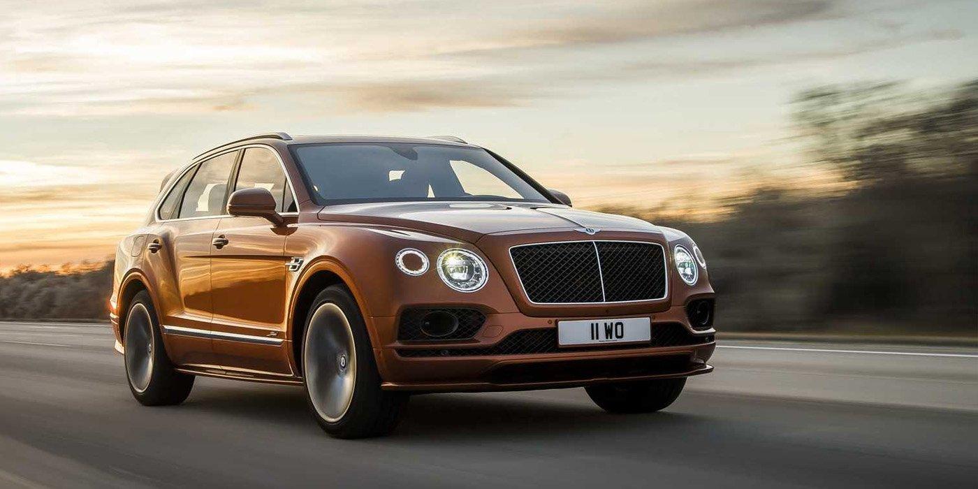 Bentley представил самый быстрый внедорожник в мире 1
