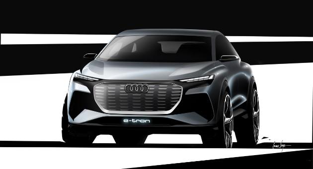 Audi анонсировала новый электрический кроссовер 1