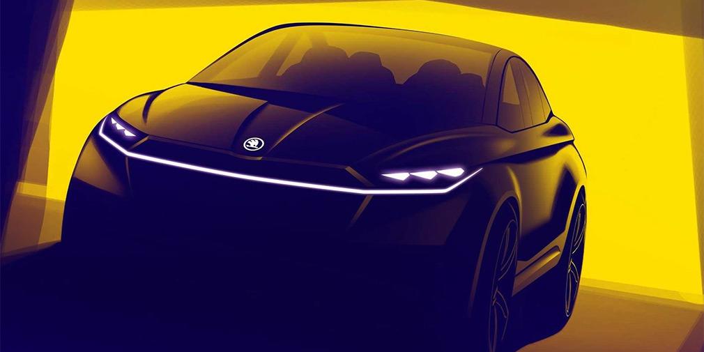 Skoda привезет в Женеву новый купе-кроссовер 1