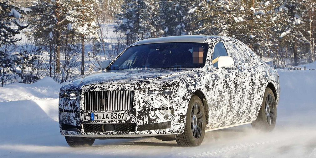 Новый Rolls-Royce Ghost заметили на тестах 1