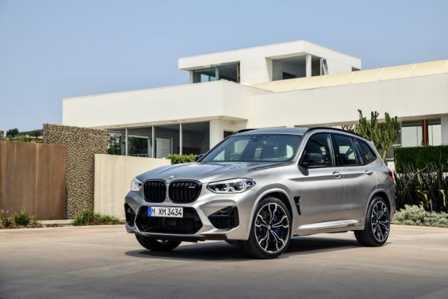 BMW представила спортивные кроссоверы X3 M и X4 M 1