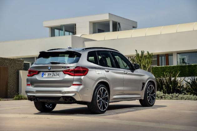 BMW представила спортивные кроссоверы X3 M и X4 M 2