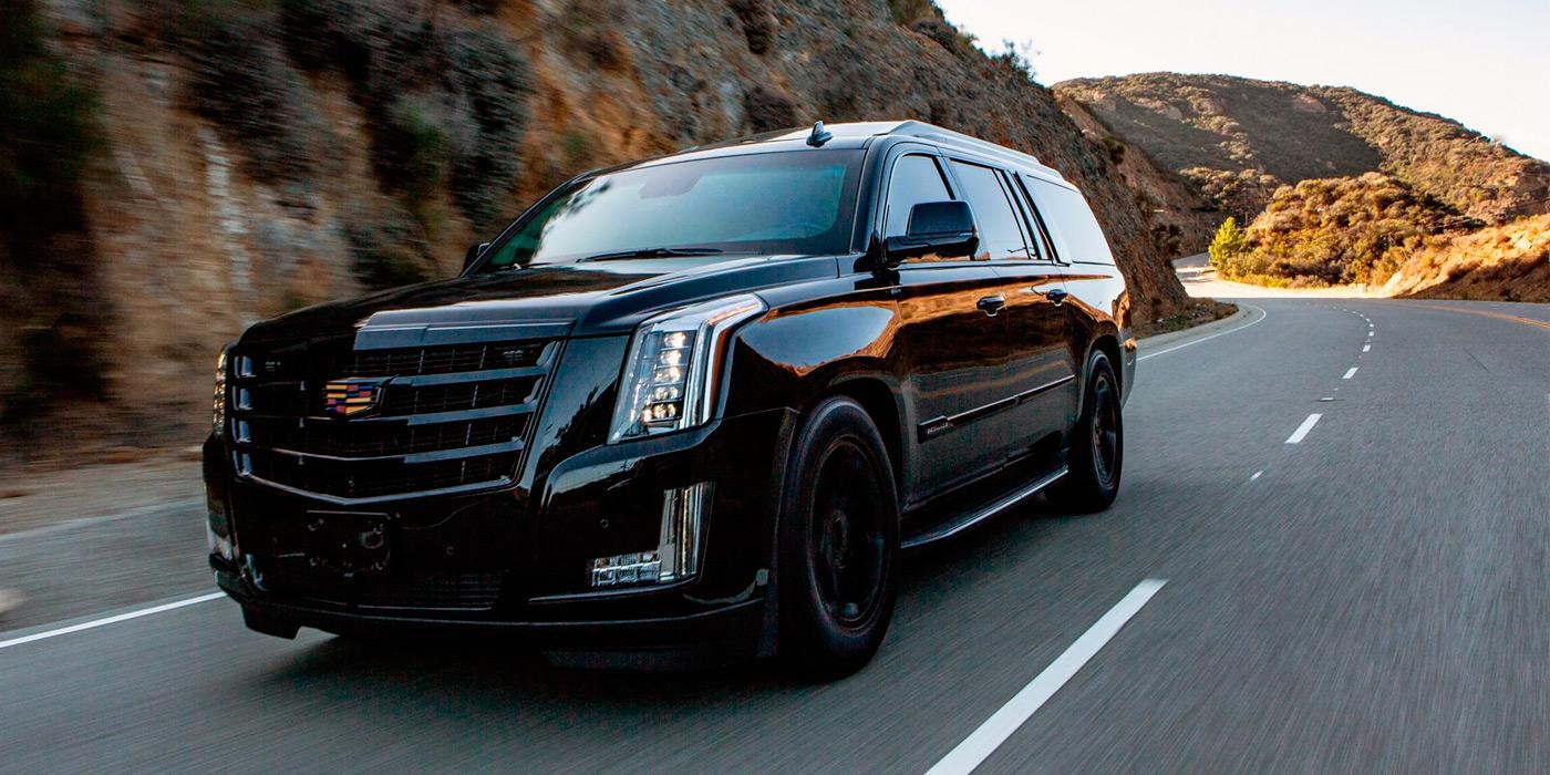 Cadillac Escalade превратили в роскошный броневик 1
