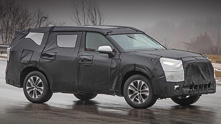 Новую генерацию Toyota Highlander сфотографировали на тестах 1