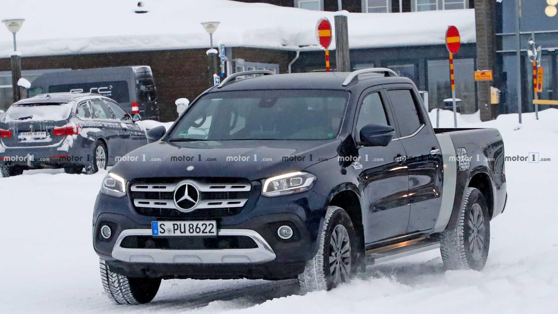 Mercedes-Benz начал тесты удлинённого пикапа X-Class 1