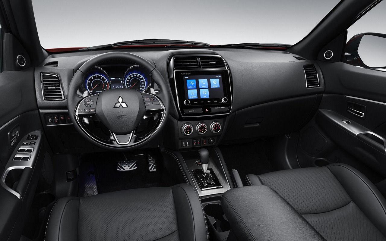 Mitsubishi представит обновленный ASX в Женеве 2