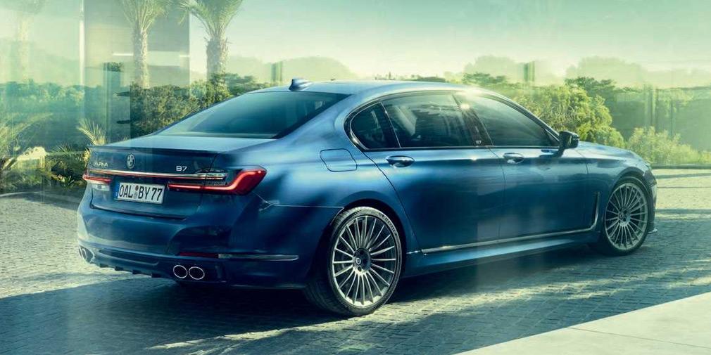 Alpina представила 600-сильный седан на базе обновленной BMW 7-Series 2