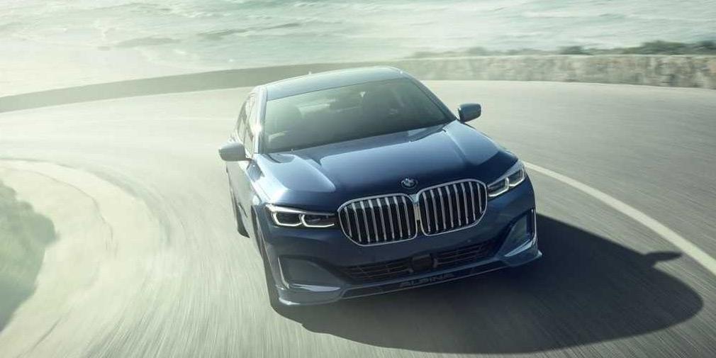 Alpina представила 600-сильный седан на базе обновленной BMW 7-Series 1