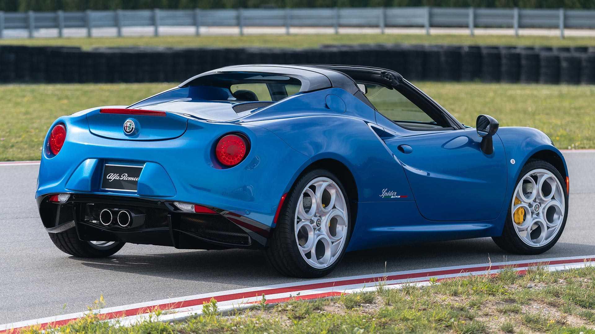 Alfa Romeo выпустила эксклюзивную 4C Spider Italia для США 2
