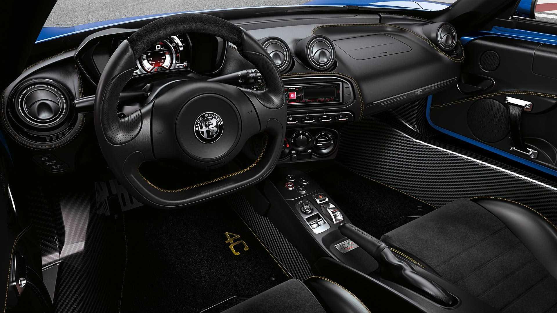 Alfa Romeo выпустила эксклюзивную 4C Spider Italia для США 3
