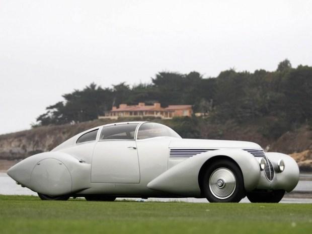 Hispano Suiza показала очередное изображение новой модели Carmen 1