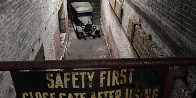 Довоенный Packard обнаружили на заброшенной фабрике в Филадельфии 1