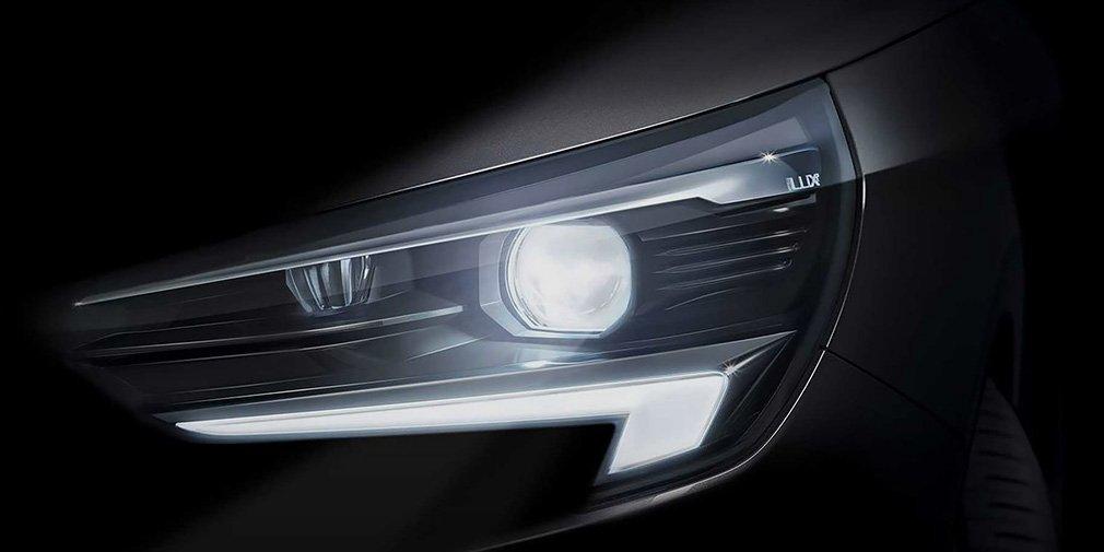 Opel показал оптику новой Corsa 1