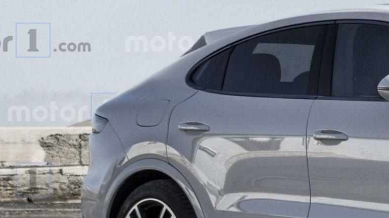 Купеобразный Porsche Cayenne Coupe готовится к конкуренции с BMW X6 1