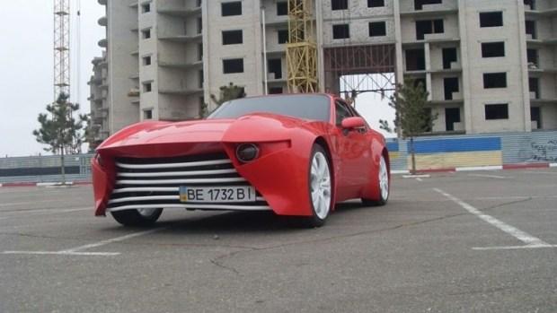 Украинец превратил старый Porsche в эффектный спорткар 2