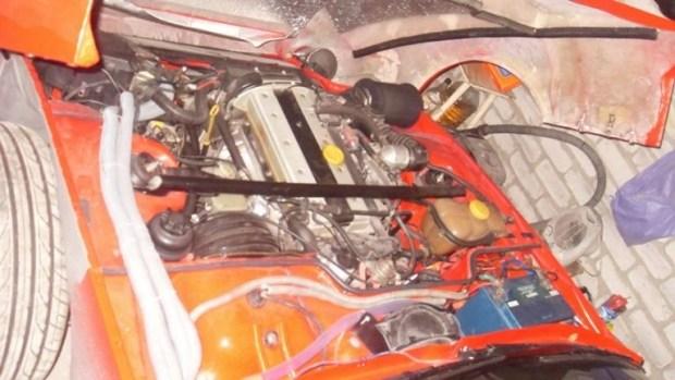 Украинец превратил старый Porsche в эффектный спорткар 5