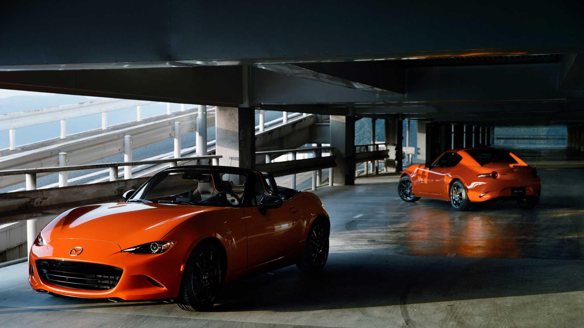 Mazda показала лимитированную MX-5 Miata 30th Anniversary Edition 2