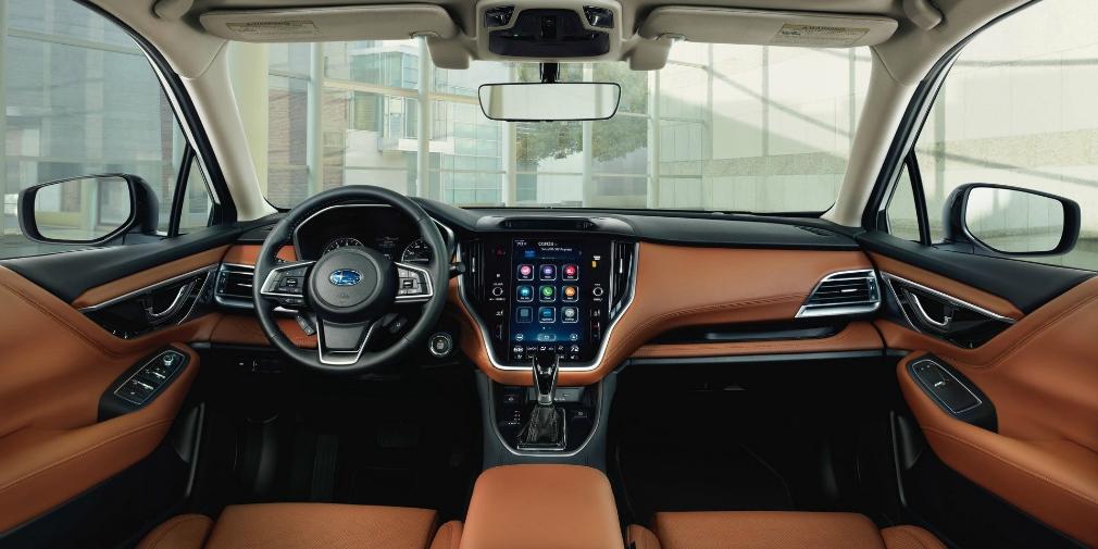 Subaru показала седан Legacy нового поколения 2