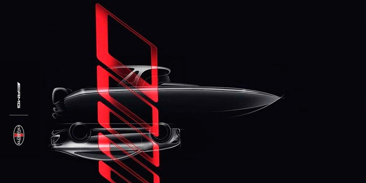 Mercedes-AMG анонсировал премьеру новой суперлодки 1