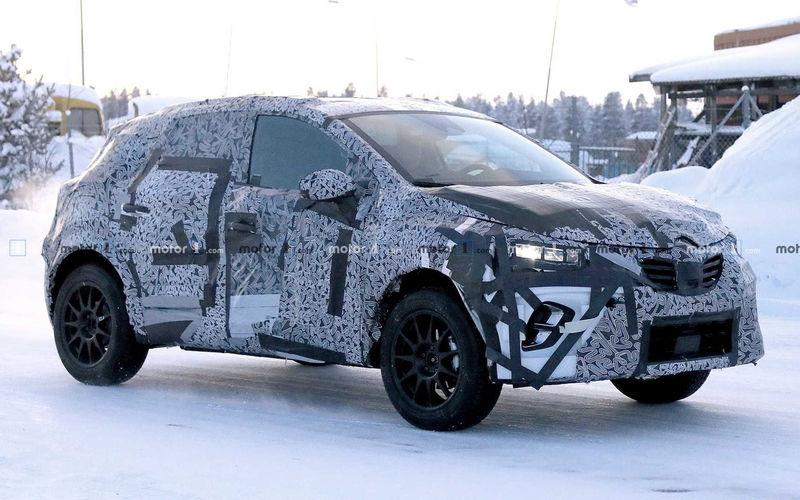 Renault готовит к премьере новый Captur 1