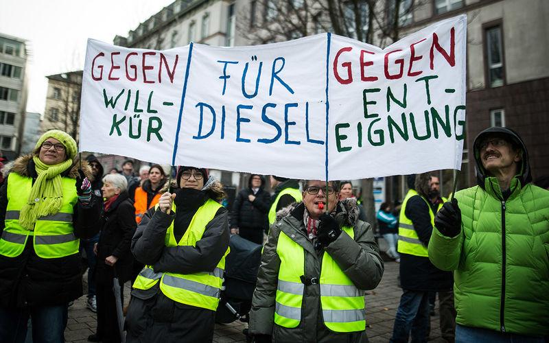 Немецкие «желтые жилеты» против запрета дизельных автомобилей 1