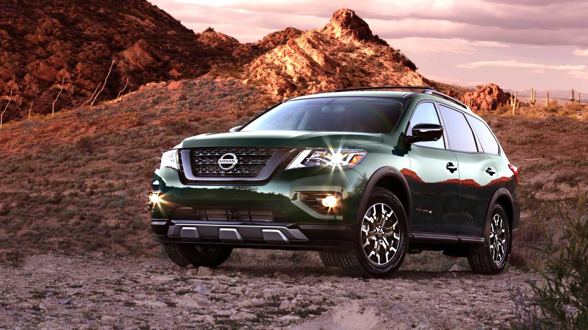 Nissan покажет в Чикаго Pathfinder Rock Creek Edition 1