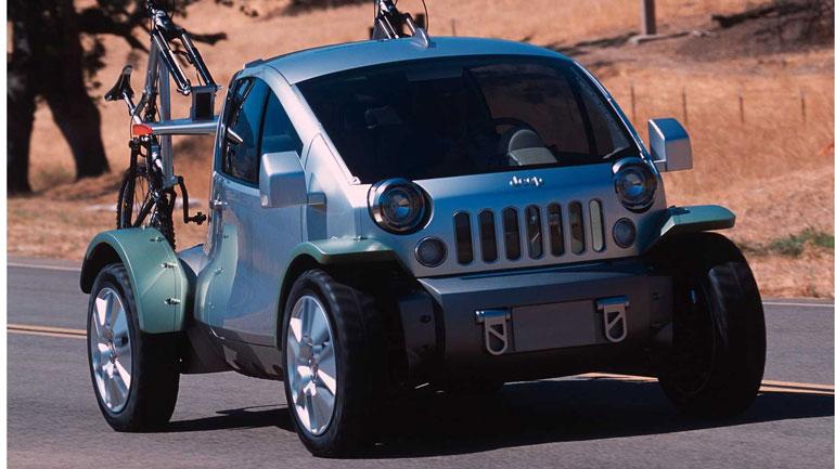 Jeep может выпустить компактный электрокар по мотивам концепта 2003 года 1