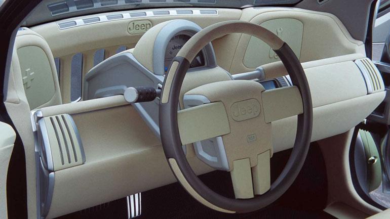 Jeep может выпустить компактный электрокар по мотивам концепта 2003 года 2