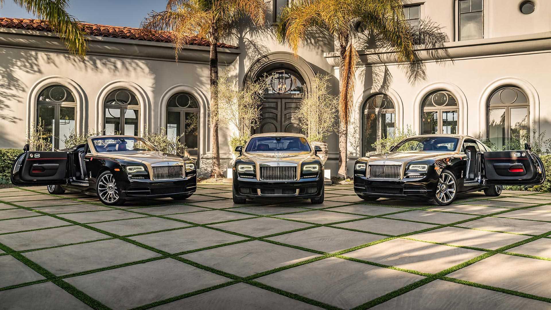 Rolls-Royce сделал особые автомобили по случаю года свиньи 3