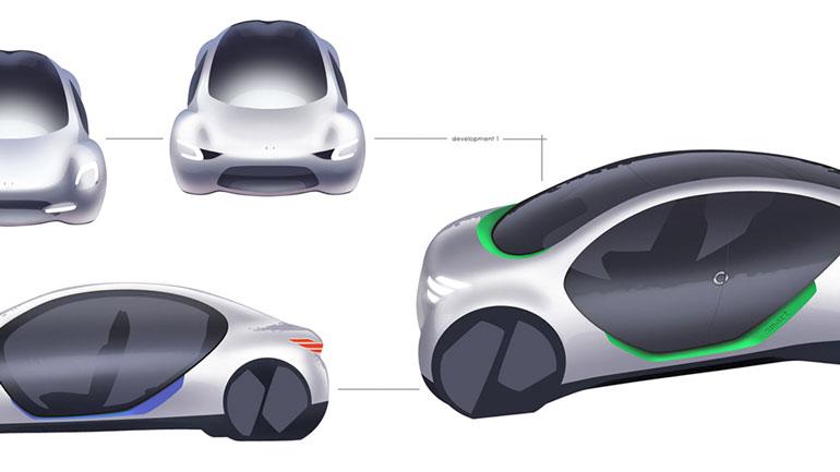 В Сети появился рендер нового электрокара от Smart 2