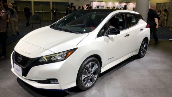 «Дальнобойным» Nissan Leaf урежут запас хода 1