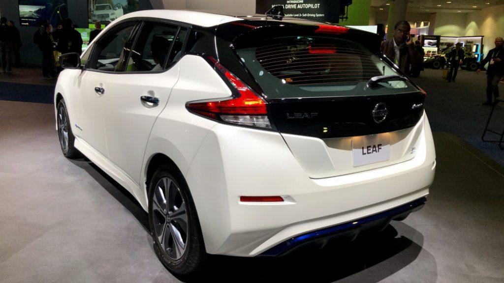 «Дальнобойным» Nissan Leaf урежут запас хода 2