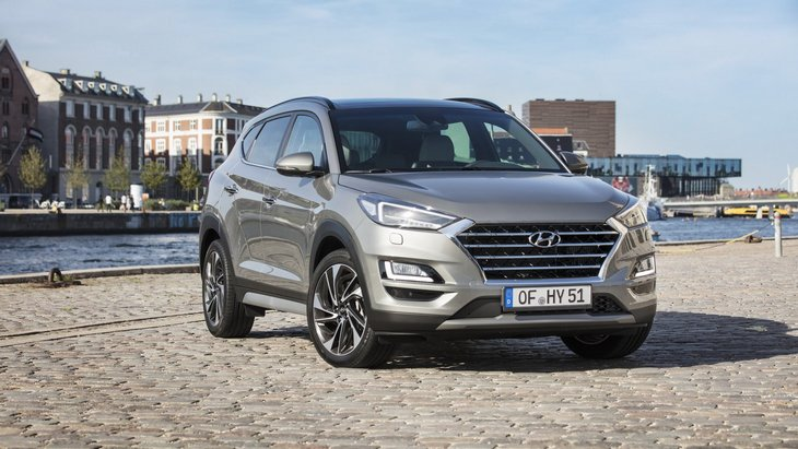 Hyundai готовит спортивную версию кроссовера Tucson 1