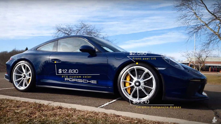 Porsche 911 GT3 получил новую версию Touring 1