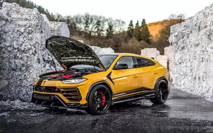 Lamborghini Urus прокачали до 812 лошадиных сил 1