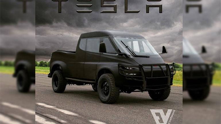 Tesla может показать свой электрический пикап Tesla Truck уже летом 1