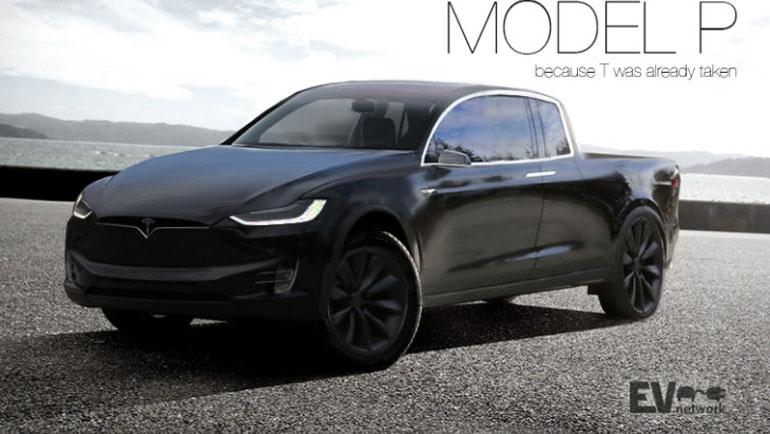 Tesla может показать свой электрический пикап Tesla Truck уже летом 2
