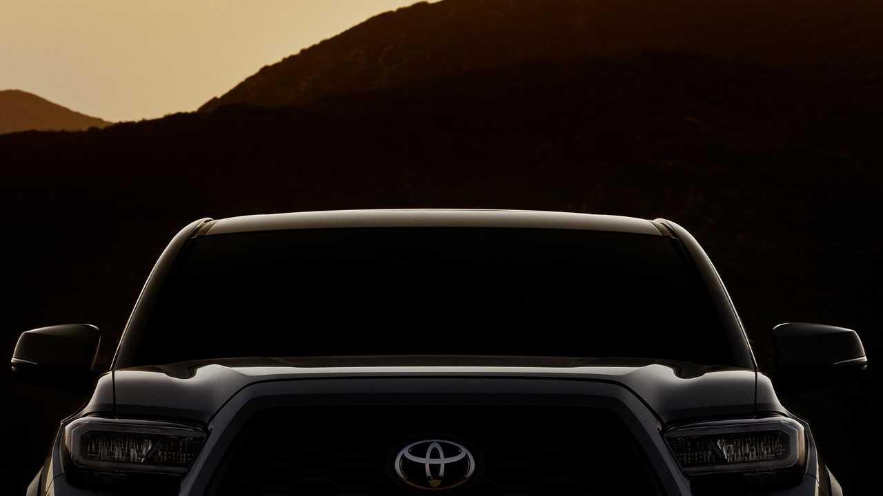 Обновлённый пикап Toyota Tacoma покажут в Чикаго 1