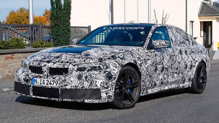 BMW выпустит три модификации новой M3 2021 1