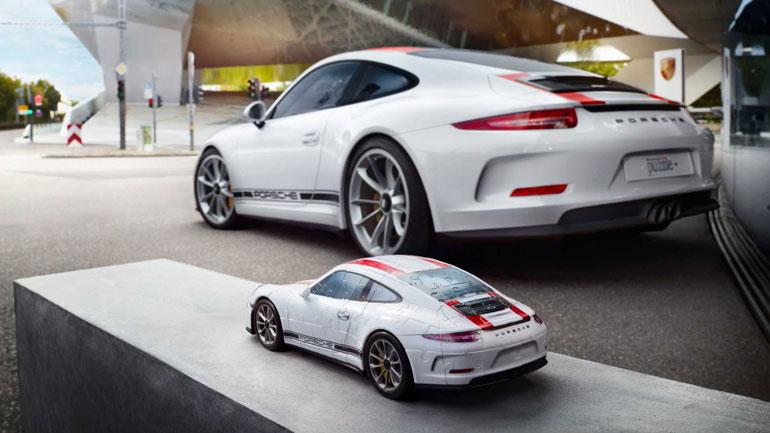 Porsche создал удивительно правдоподобную 3D-головоломку 2