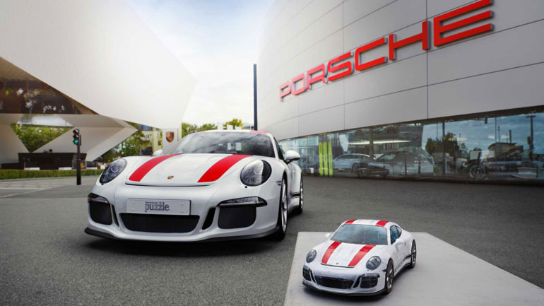 Porsche создал удивительно правдоподобную 3D-головоломку 1
